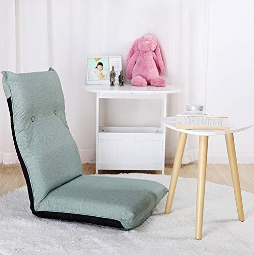 YQQ-sofa Perezoso Comodidad Elegante Multiangulo Silla De Piso con Respaldo Ajustable TV Floor Chair Floor Gaming Chair Silla De Meditacion Silla De Lectura (Color : C)