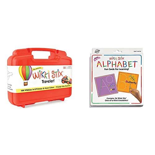 WikkiStix Traveler Playset & Alphabet Cards Set