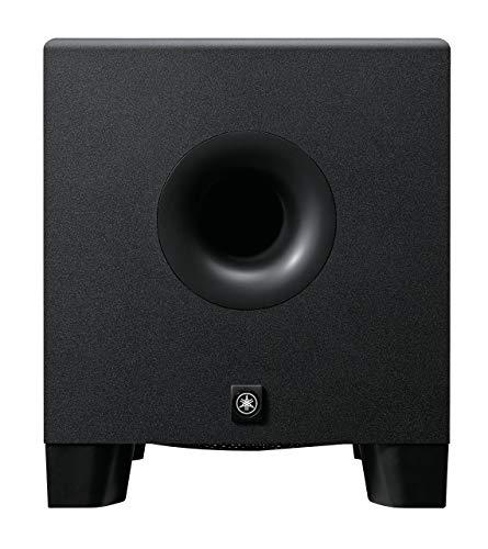 Yamaha HS8S – Aktiver Bassreflex-Subwoofer für Produzenten, DJs und Musiker – Schwarz