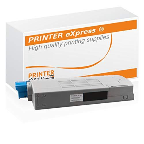 Printer-Express XL Toner ersetzt OKI 44315308 Toner für OKI C610 C610 DN C610 N C610 DTN / C610 C610DN C610N C610DTN Drucker schwarz