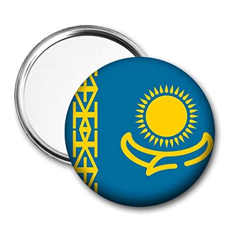 Kazachstan Vlag Pocket Spiegel voor Handtas - Handtas - Cadeau - Verjaardag - Kerstmis - Stocking Filler - Secret Santa