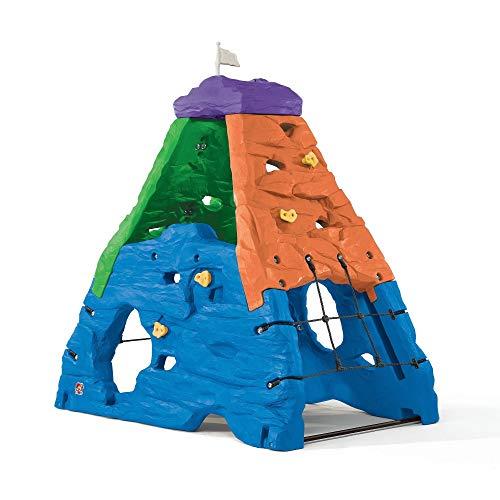 Beauty.Scouts Kletterwand Trudi aus Kunststoff 132,1x203,2x203,2cm bunt Kinderkletterwand Kunststoffspielhaus Spielhaus Kinder Spiel Haus Outdoor