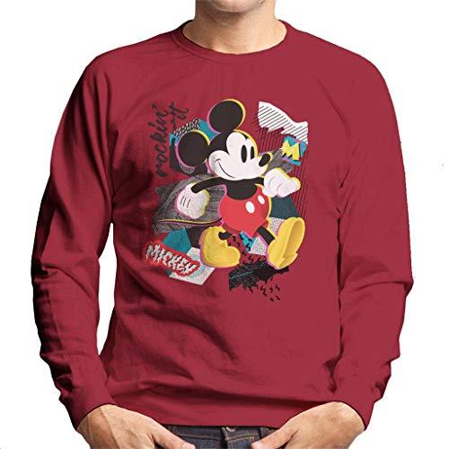 Disney Mickey Mouse Retro Pop Art Men's Sweatshirt