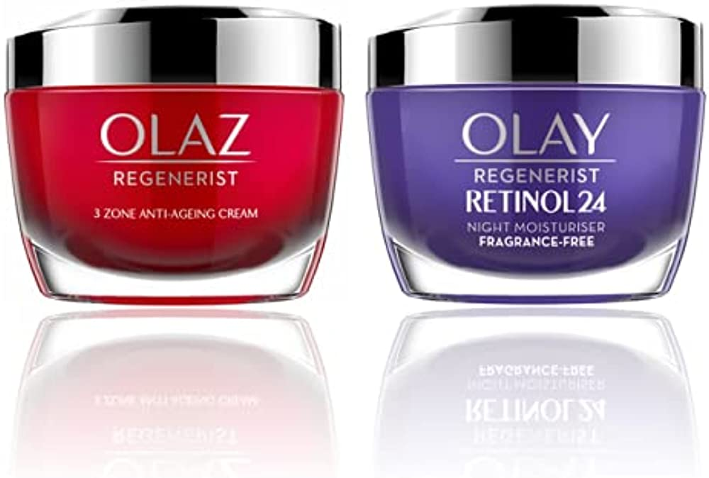 Olaz regenerist crema viso antirughe giorno piu` olay retinol24 crema notte idratante viso