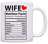 Valentines Day Gifts for Her - Best Wife Gifts Ever - Valentines Day Mug - Gifts for Wife From Husband - Anniversary Gifts for Her