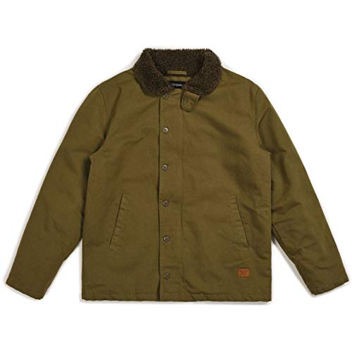 BRIXTON Jacket, Giacca Mast Uomo, Verde, XL