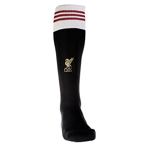 adidas - Calcetines, diseño del FC Liverpool negro negro Talla:34-36