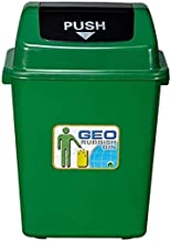 AINIYF Trash Can,Dustbin Dustbin, School Trashcans for Shopping Centers Plastic Trash Cans Kitchen Trash Cans Color/Capaci...
