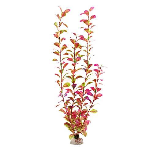 gaeruite 40 cm Höhe Künstliche Wasserpflanzen, Multi-Farben Vivid Simulation Aquarium Pflanzen Kreatur Aquarium Landschaft Gras für Aquarium Dekorationen