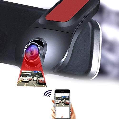 SDRFSWE Full HD WiFi Auto DVR autorijden Digitale Video Recorder Dash CAM nachtcamera versie 170 graden bewegingsdetectie