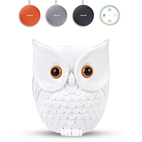KeyEntre Owl Shape Smart Home Guard Owl Statue Crafted Guard Station for...