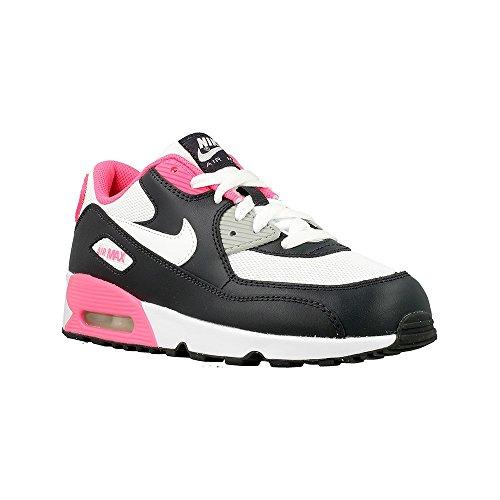 Nike Nike - Air Max 90 Mesh PS - 833341001 - Farbe: Rosa-Schwarz-Weiß - Größe: 30.0