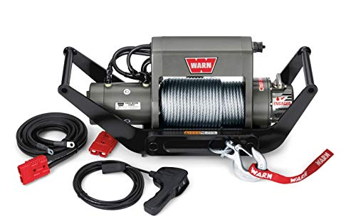 WARN 104183 XD9i Multi-Mount Portable Winch Kit with Steel Rope - 9,000 lb Capacity