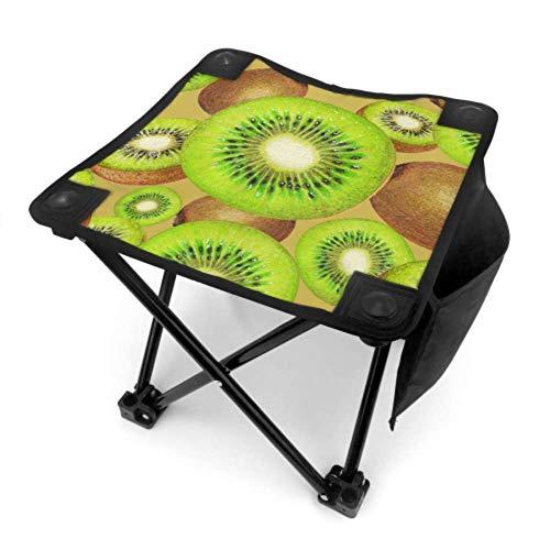 Mu You Ben Klappstuhl Tragbaren Stuhl Camping Süß Sauer Kühlen Sommer Obst Kiwi Leichte Angelstühle Klapp für Camping Angeln Wandern Reisen