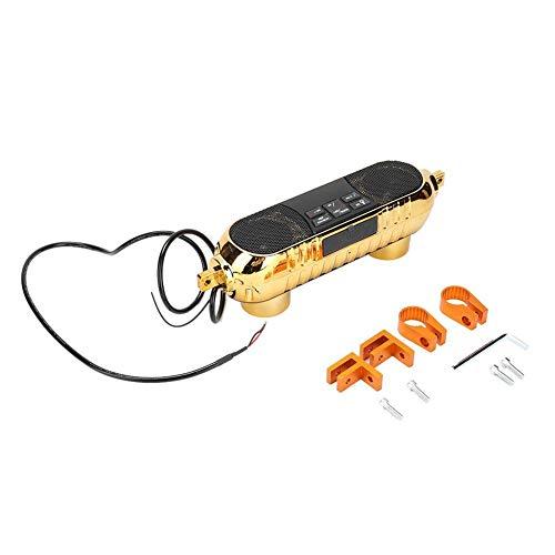 Amplificador, sistema de altavoces estéreo, estéreo para motocicleta, para entretenimiento en el hogar