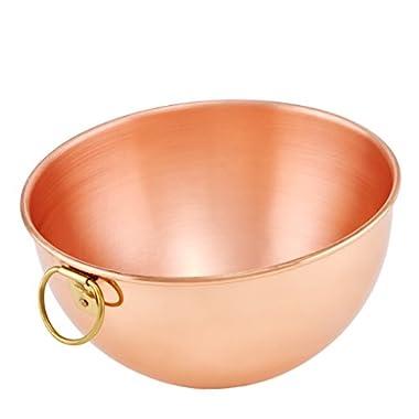 8¼ In. Diameter Solid Copper Beating Bowl, 2 Qt.