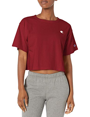 Champion Life Women's Crop, Sepia Red-551260, Large