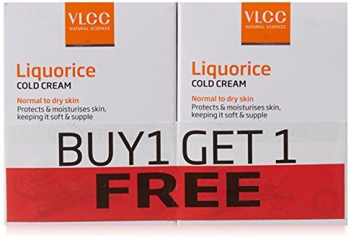 VLCC Liquorice Cold Cream, 50g (Buy 1 Get 1 Free)