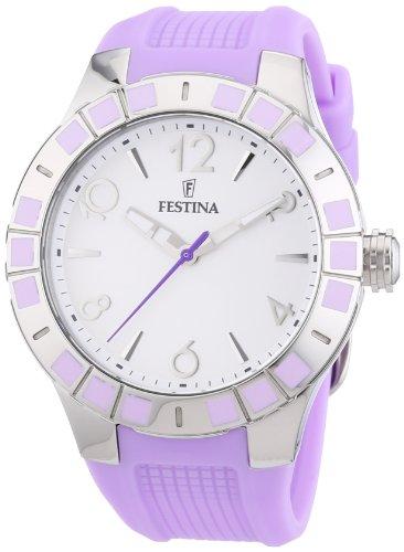 Festina F16676/2 - Reloj de Pulsera Mujer, Caucho, Color Mor