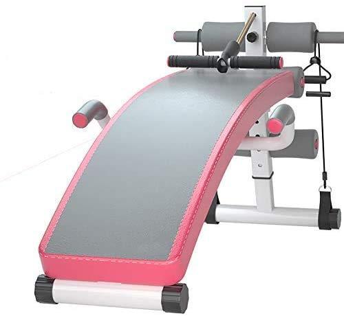 JFZCBXD Verstellbar Sitzen Hantelbank,Klappbare Hantel Workout Bank Flach Steigung Decline Utility Multi-Zweck Zu Home Gym