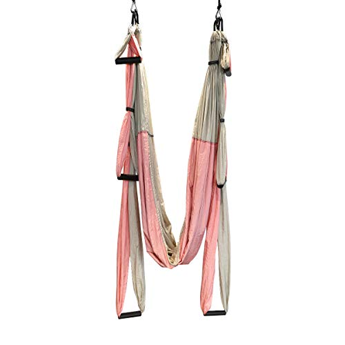 Amazing Deal Yoga Swing Yoga Hammock Kit Aerial Yoga Swing Yoga Sling Set for Antigravity Exercise I...
