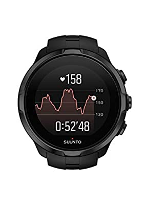 SUUNTO Unisex's Spartan HR Sports Wrist, Black, One Size