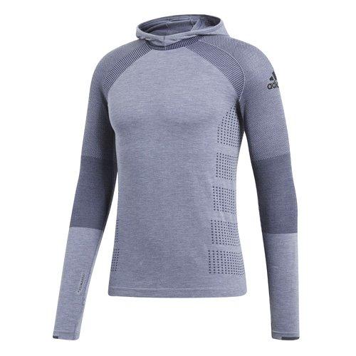 adidas Herren Climaheat Primeknit Shirt, Raw Steel, L