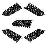 Angoily 5Pcs Starter Tablett Aussaat Starter Tablett Pflanzung 50 Zellen Trays für Pflanzen...