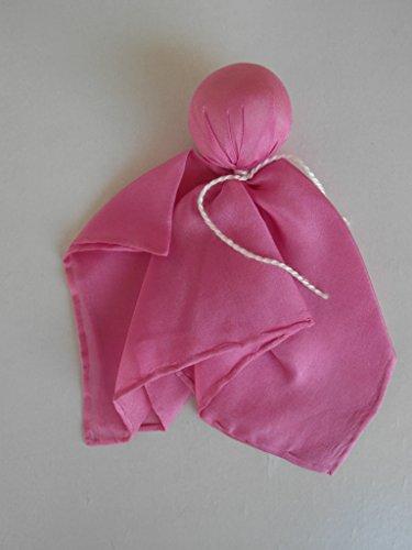 Filges Seidenpüppchen Träumerle, Farbe pink, Köpfchen mit Biowolle gefüllt