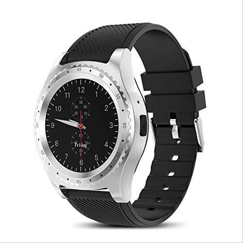 No brand Smart Watch Orologio da Polso Bluetooth Touchscreen Wasserdicht Sport smartwatch unterstützung sim karte reloj Inteligente Silber Schwarz