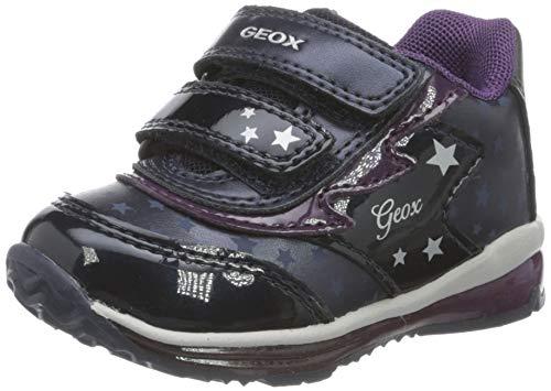 Geox Baby-Mädchen B TODO Girl A Sneaker, Navy, 27 EU