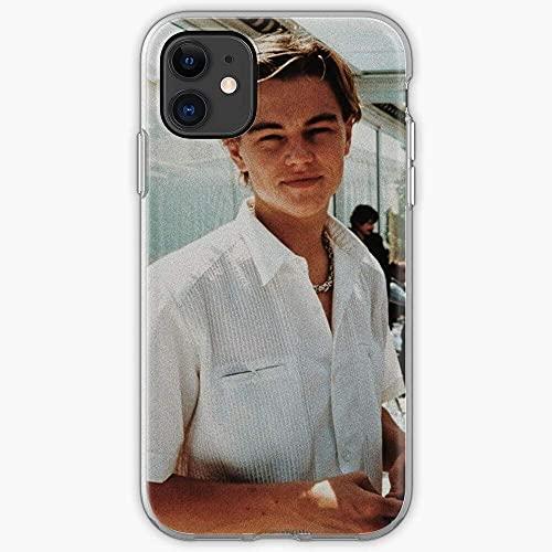 Joven Titanic Di Young Leo Leonardo Caprio Dicaprio Pure Clear Custodie per Telefoni iPhone 12/11 Pro Max 12 mini SE X/XS Max XR 8 7 6 6s Plus Custodie