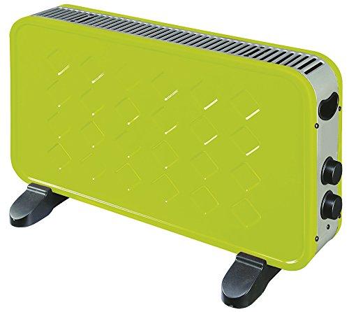 Kekai KT0594 - Convector Eléctrico (Verde)1000/2000 W Verde 60x10x35 cm