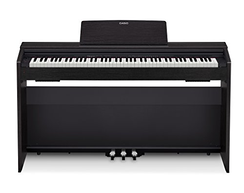 of cheap piano keyboards dec 2021 theres one clear winner Casio PX-870 BK Privia Digital Home Piano, Black