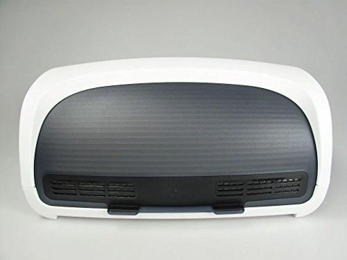 TUPPERWARE BrotMax weiß schwarz A107 Brot Brotwächter Brotkasten Brotprofi 30911