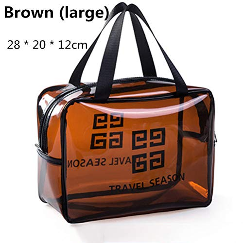 6P6 Net Red Cosmetic Bag Ins Wind Super Portable Femme Voyage Feu Grande Capacité De Lavage Transparent Sac Étanche Boîte De Rangement Sac,B3