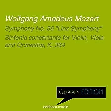 "Green Edition - Mozart: Symphony No. 36 ""Linz Symphony"" & Sinfonia concertante, K. 364"