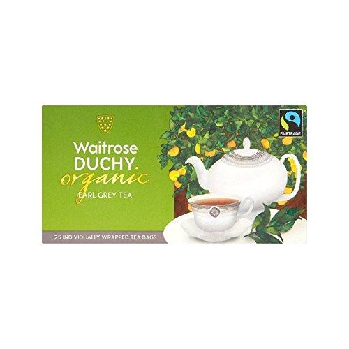 Ducato Waitrose Organici Earl Bustine Grigie 25 Per Confezione - Confezione da 2