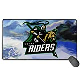 Grace-Ra Large Gaming Mouse Pad 15.8 X 29.5 Inch - Rohan Riders Team Logo