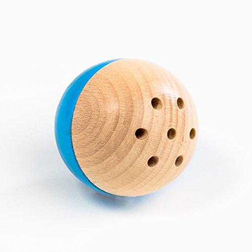 rewoodo Baelly Premium Babyspielzeug Holzspielzeug aus Deutschland (blau)