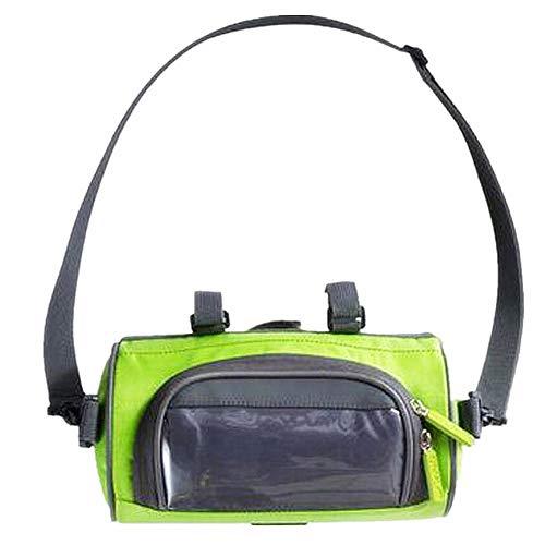 9 Inch Grote Fietstassen Stuur Front Tube Waterdichte Bike Telefoon Tas Touch screen Pack Accessoires Fietsen