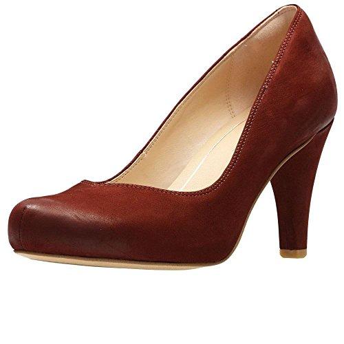 Clarks Dalia Rosa Zapatos De Corte De Las Mujeres 3.5 D (M) UK/ 36 EU Rust (Ropa)