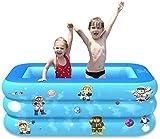 YIQIFEI Piscina Familiar Inflable Piscina Infantil para niños Piscina Redonda Centro de natación Plegable Piscina Familiar para niños Adultos (Piscina)