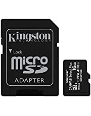 Kingston Canvas Select Plus 16GB microSD Card with Adapter (SDCS2/16GBIN)