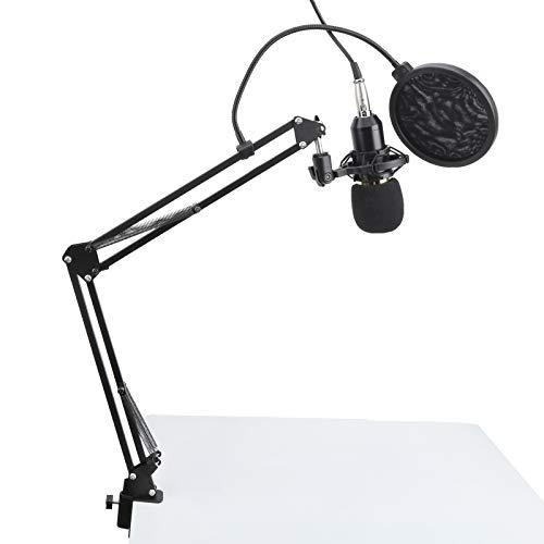 Kits de grabación de micrófono, amplia gama de uso Instalación en voladizo Manos libres BM800 Kits de grabación de micrófono para escenario de estudio de karaoke KTV, estación de TV, etc.