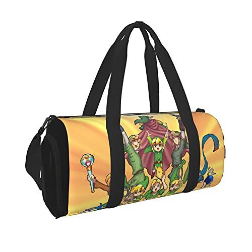 The Legend of Zelda - Bolsa de viaje para hombre y mujer, ligera, con bolsillo interior