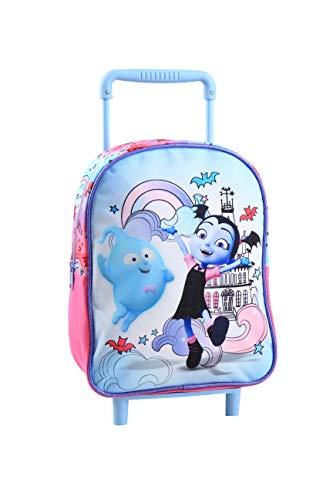 Jacob   Co. Trolley Backpack Vampirina: Mochila Infantil  34 cm   Color Azul