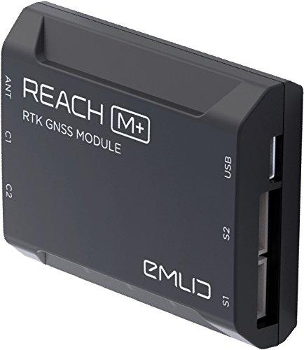 Reach M+ RTK GNSS Empfänger, Drohnen, Vermessung, Photogrammmetrie, GPS, GLONASS, BeiDou, Galileo …