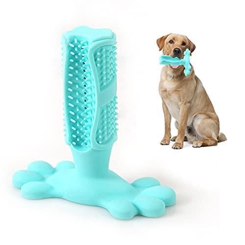 LONXAN Kauspielzeug für Hunde, Langlebiges Gummi Hundespielzeug, Hundespielzeug Interaktives Spielzeug für Große Kleine Hunde, Zähne Reinigen und Zahnfleisch Massieren