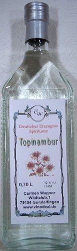 1 x 0,7l Flaschen Badischer Topinambur - 42 %